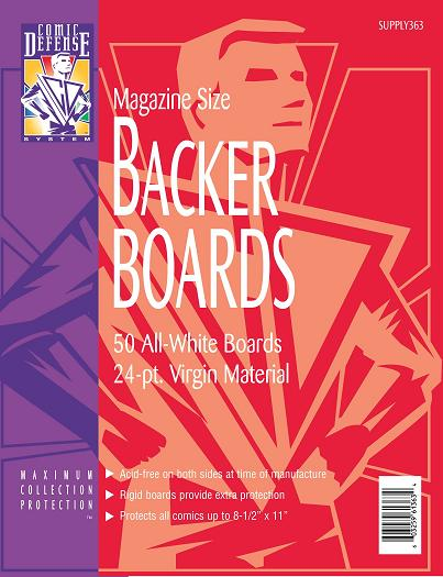 Comic Defense Boards Magazine Age Size (50)